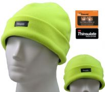 Fordville Mens Thinsulate Beanie - Hi Viz